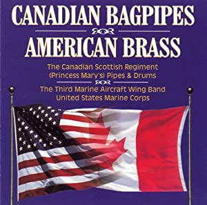 Canadian Bagpipes & American Brass
