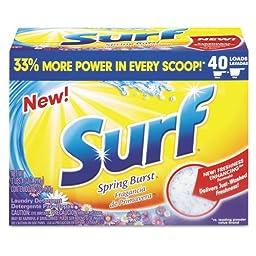 Surf Ultra Powder Laundry Detergent, 2oz Vending Machines Packets - 100 vending packets of detergent.