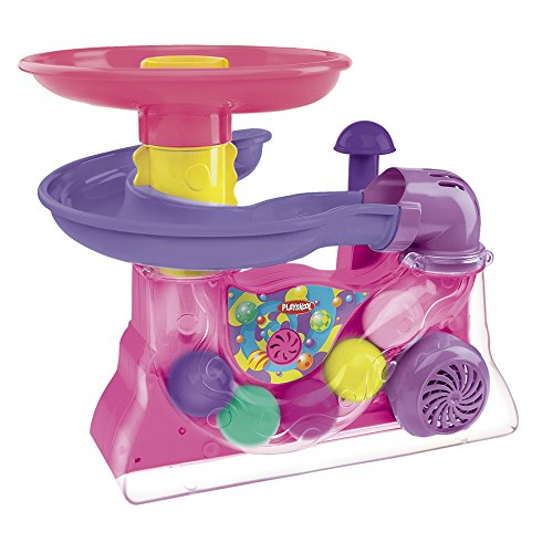 Playskool Busy Ball Popper - Pink front-883449