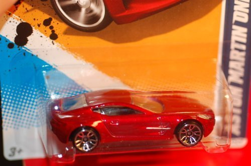 2012 Hot Wheels All Stars, ASTON MARTIN ONE-77 (metallic maroon) 03 of 10, 123/247 (1 Each) 1:64 Scale die cast - 1