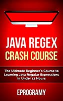 Java: Regex Crash Course – The Ultimate Beginner's Course to Learning Java Regular Expressions in Under 12 Hours Front Cover