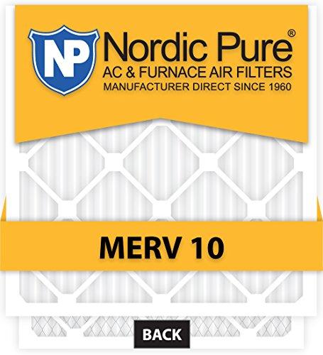 12x30x1 MERV 10 AC Furnace Filters Qty 6
