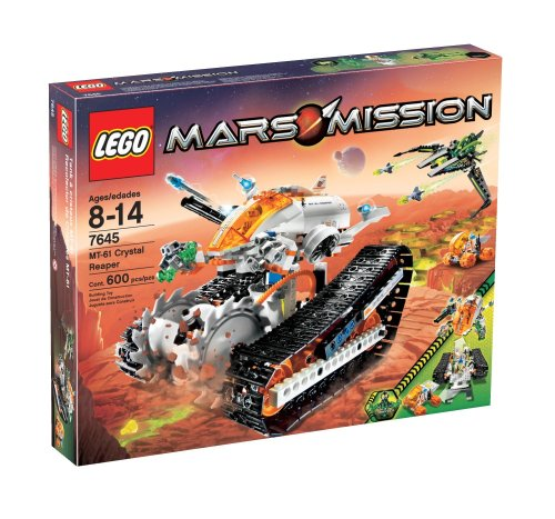 LEGO Mars Mission MT-61 Crystal Reaper Amazon.com