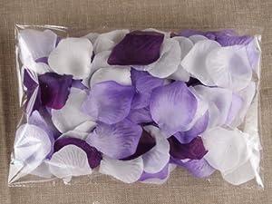 Amazon.com: 300pc Mixed Color Rose Petals Purple,lavender