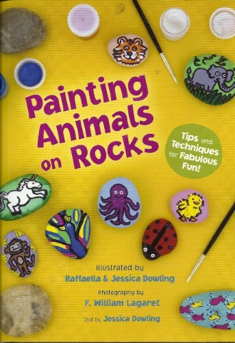 Rock Painting Animals, Book and Kit (Rock Painting Animals compare prices)