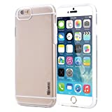 iPhone 6 Case - Poetic Apple iPhone 6 Case [Atmosphere Series] - Slim-Fit Transparent Hybrid Case for Apple iPhone 6 (4.7-inch) Clear/White