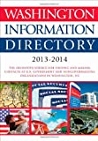 img - for Washington Information Directory 2013-2014 book / textbook / text book