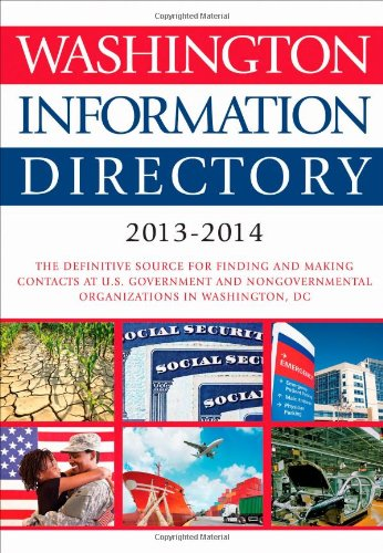 Washington Information Directory 2013-2014