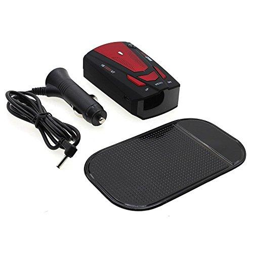 KostenloseRotationslaser AutoAnti-PolizeiGPS RadarDetectorV716BandAkustischer AlarmRot