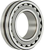 SKF Explorer Spherical Roller Bearing, Straight Bore, Pressed Steel Cage, CN Clearance, Metric