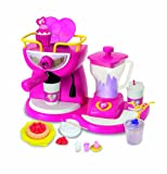 HTI Group 1680591 - Barbie Doll`icious Coffee n Smoothing Shop, Schmuck Set