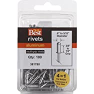 Do it Best Global Sourcing 381780 Do it Best POP Rivets-1/8