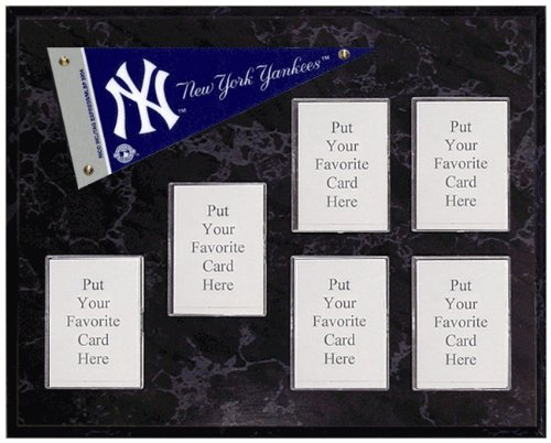 New York Yankees Mini Pennant Plaque (No Cards) at Amazon.com