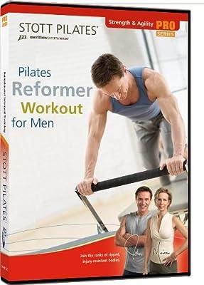 Stott Pilates Reformer Workout for Men DVD