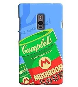 Blue Throat Mushrrom Box Printed Designer Back Cover/ Case For OnePlus 2