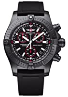 Breitling Aeromarine Avenger Seawolf Chrono Blacksteel Mens Watch M7339010/Ba03 by Breitling