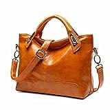 LI&HI Damen fashion elegant Leder Beutel Muße Umhängetaschen Schulterbeutel Abendtaschen Clutch