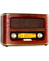Auna RM-2 Belle Epoque Radio vintage FM/AM