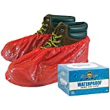 Waterproof ShuBee Shoe Covers Red