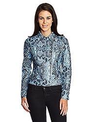 GAS Women's Blouson Jacket (81692_Pale Windy_46)