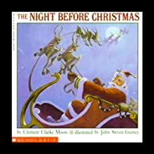 The Night Before Christmas (       UNABRIDGED) by Clement Clarke Moore Narrated by Peter Linz