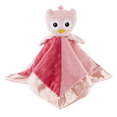 Snoozies Cozy Little Lovies Plush Satin Baby Blanket - 1