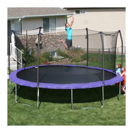 Skywalker Trampolines 17 ft. with Safety Enclosure Oval Trampoline