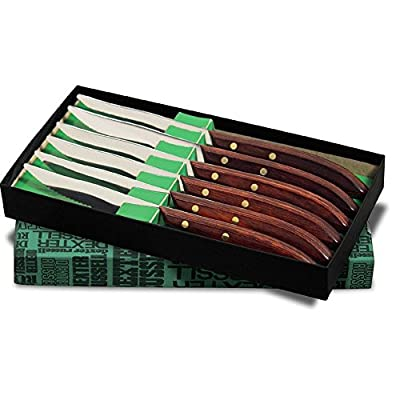Dexter Russell 965SC-6P Traditional 6-Pc Steak Knife Set with Gift Box