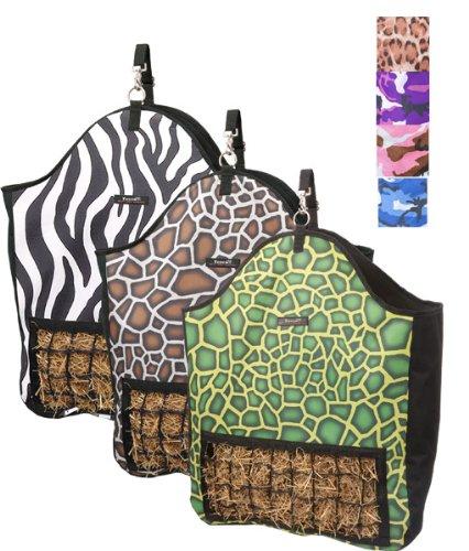 Slow Feed Hay Pouch Prints Zebra