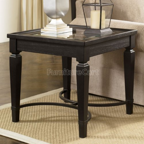 Buy Low Price Dark Square Living Room End Table T501 2