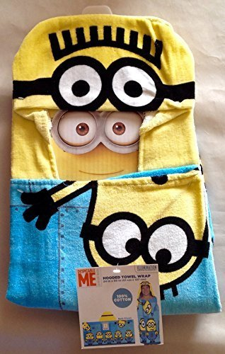 Despicable Me 2 Despicable Me Minion Hooded Towel Wrap