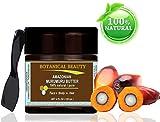 AMAZONIAN MURUMURU BUTTER 100 % Natural / 100% PURE BOTANICALS. 4 Fl.oz.- 120 ml. For Skin, Hair and Nail Care.