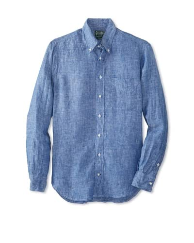 Gitman Vintage Men's Linen Button Down Shirt