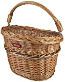 Rixen & Kaul Mini Wicker Front Basket - Natural Willow