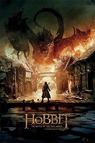 the-hobbit-battle-of-five-armies-maxi-poster-wood-multi-colour