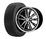 サマータイヤ・ホイール 1本セット 19インチ お勧め輸入タイヤ 225/35R19 + ANHELO CORAZON(アネーロコラソン)