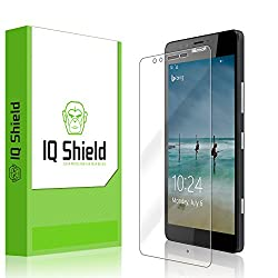 IQ Shield LiQuidSkin - Microsoft Lumia 950 Screen Protector & - HD Ultra Clear Film - Protective Guard - Extremely Smooth / Self-Healing / Bubble-Free Shield
