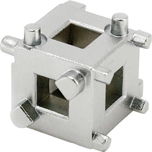 "SPTTOOLS 3/8"" Disc Brake Piston Caliper Wind Back Cube Tool"