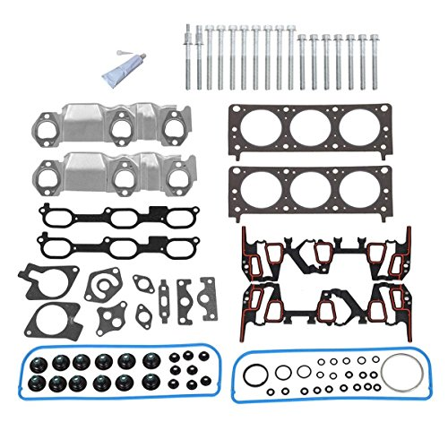 PartsSquare Chevy Pontiac Buick Oldsmobile 3.1L OHV Head Gasket Bolts Set (97 Buick Intake Manifold compare prices)