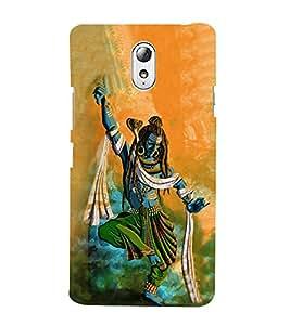 Lord Shiva 3D Hard Polycarbonate Designer Back Case Cover for Lenovo Vibe P1m