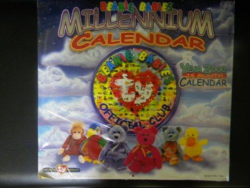 Beanie Babies Millennuim Calendar Year 2000
