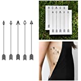 Arrows Temporary Tattoo (Set of 2)