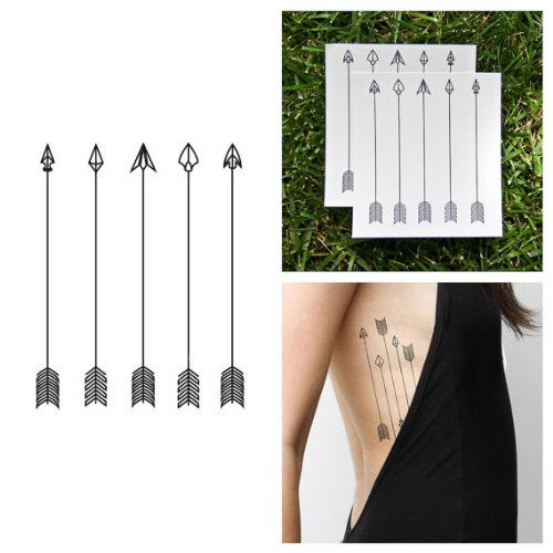 Arrows Temporary Tattoo Arrow Tattoo