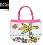Ladies Tote Beach Bag Shopping Carrying Case by Bijoux Ternet