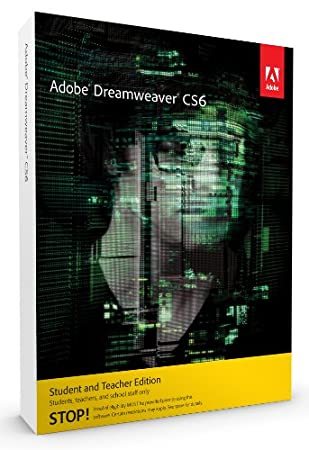 Adobe Dreamweaver CS6, Student and Teacher Version (PC)