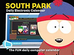 South Park Bubbles: Electronic Calendar