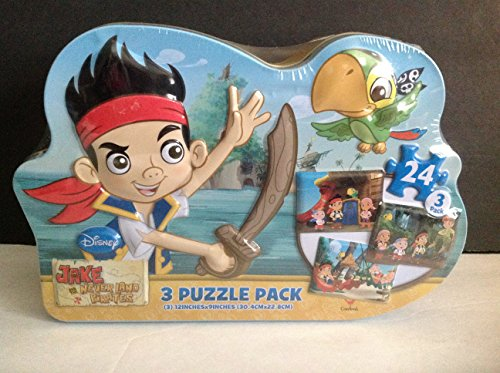 Disney Jake and the Never Land Pirates 3 Puzzle Pack - 1
