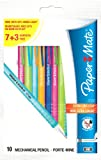 Papermate Pencil 2020, Mechanical pencils 0.7mm HB Lead, Assorted Colours Grip, Pack of 10
