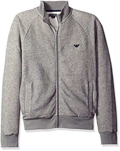 emporio-armani-marl-zip-up-top-grey-l