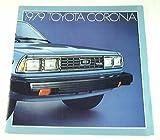 1979 79 Toyota CORONA BROCHURE Deluxe Luxury Edition